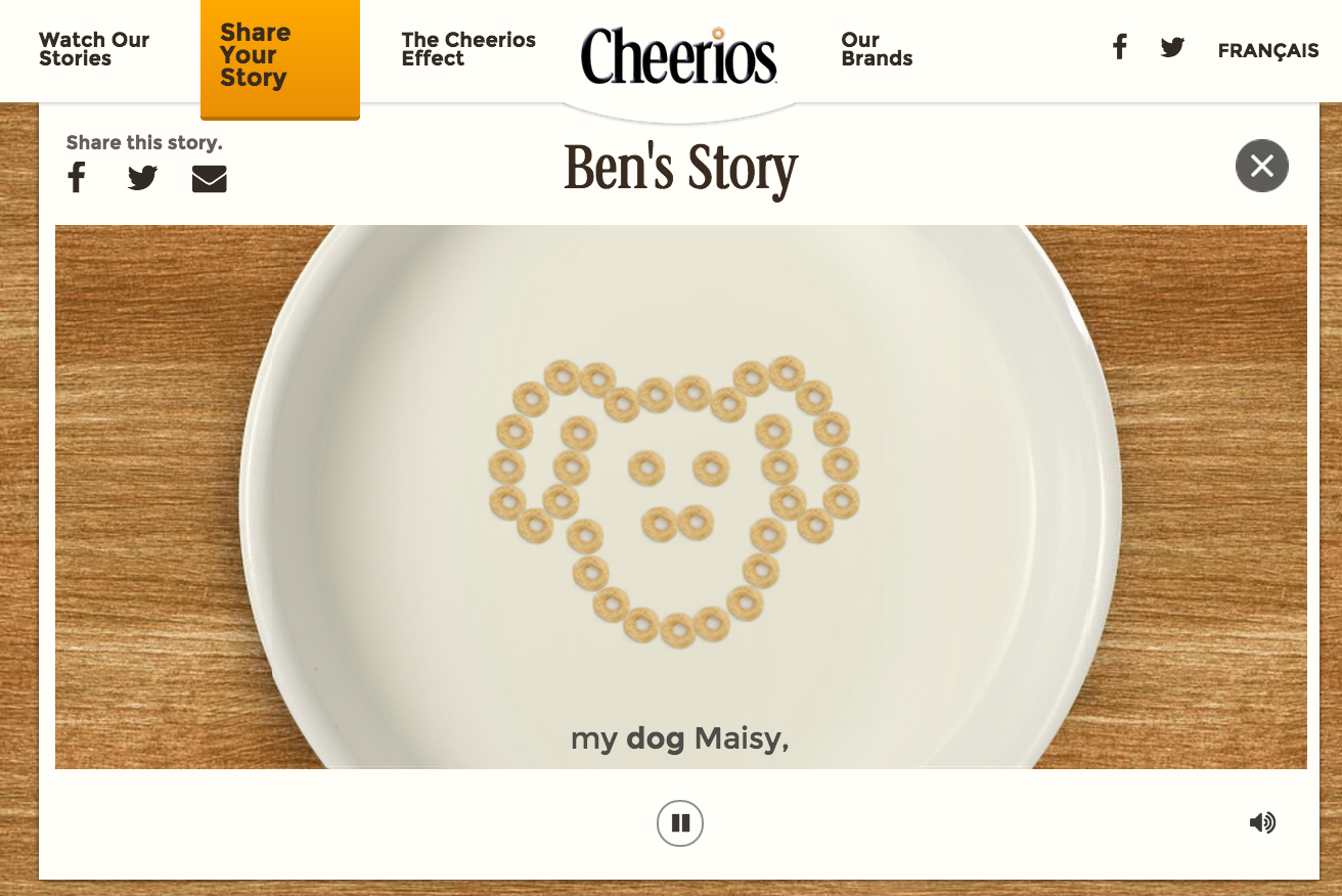 The Cheerios Effect campaign image